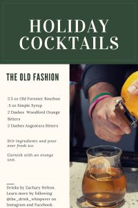 The Drink Whisperer's Old Fashion
